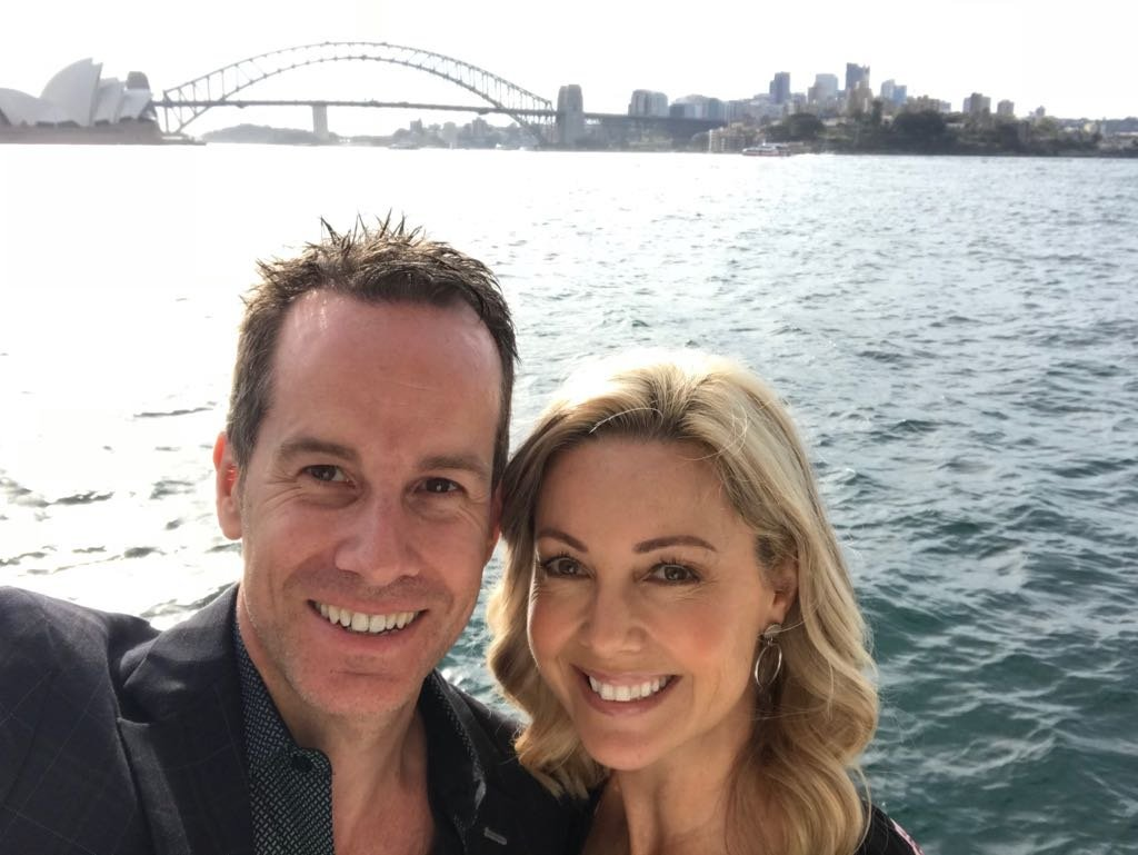 Nicole and husband back in Sydney