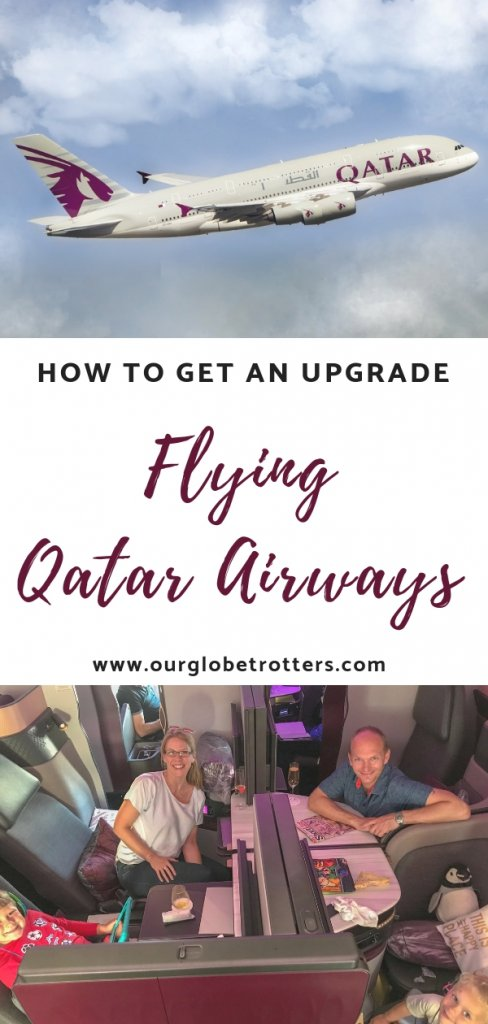 How to get upgraded when flying with Qatar Airways .