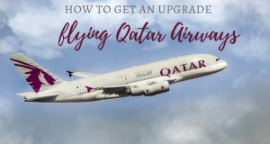 Qatar Airways A380 guide on how to get an upgrade to Business Class and a look inside their Q suites | Our Globetrotters Family Flying Airline Review