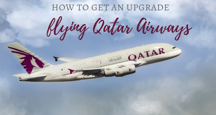 How to get an upgrade with Qatar Airways
