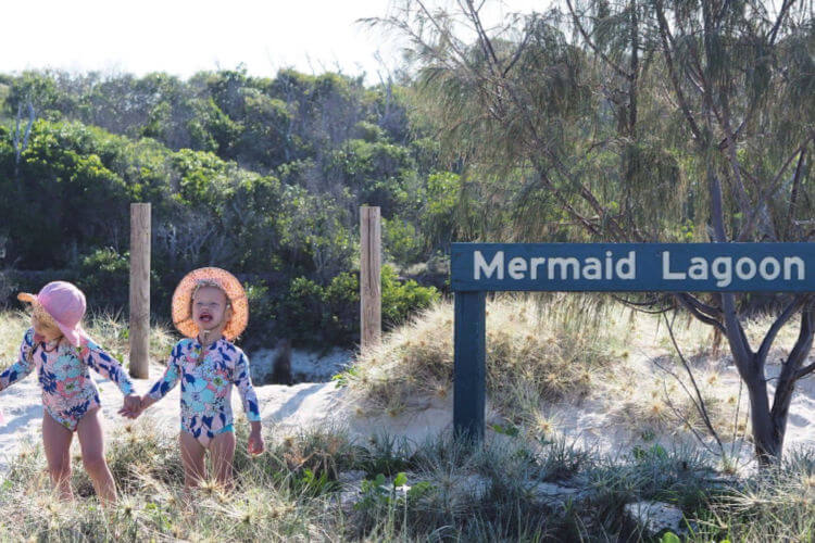 Terri and family at the Beach | Expat parenting interviews where are they now relocation to Australia