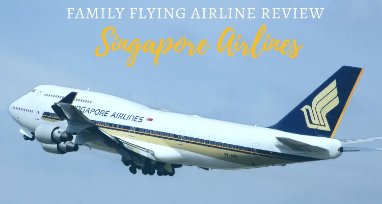 Flying Singapore Airlines with 3 kids under 5
