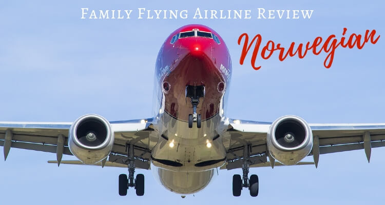 Surviving an overnight flight with kids on Norwegian