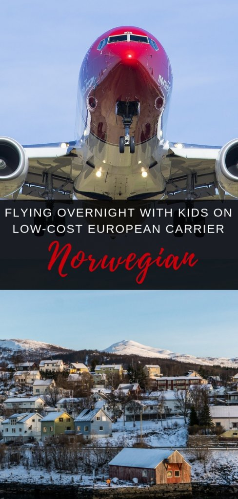 Flying Norwegian airlines with kids | A parents story of flying long haul overnight with kids