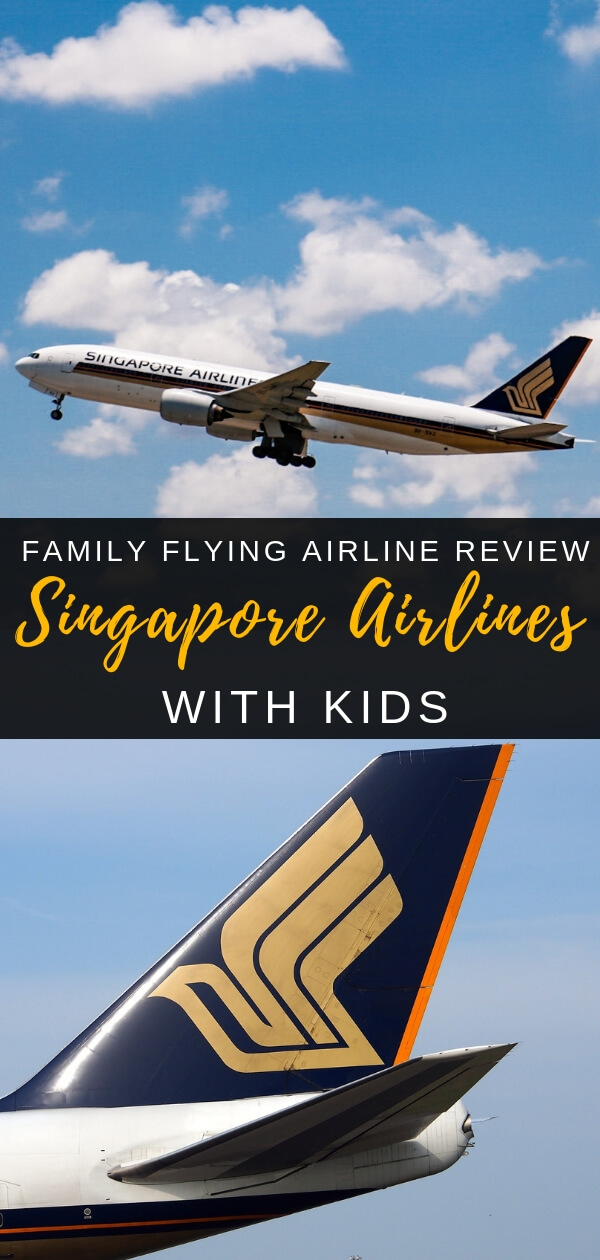 Singapore Airlines with Kids