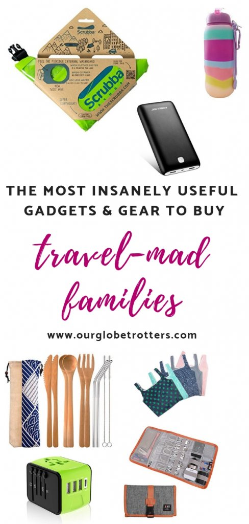 Really useful items to buy for friends and family who love to travel.