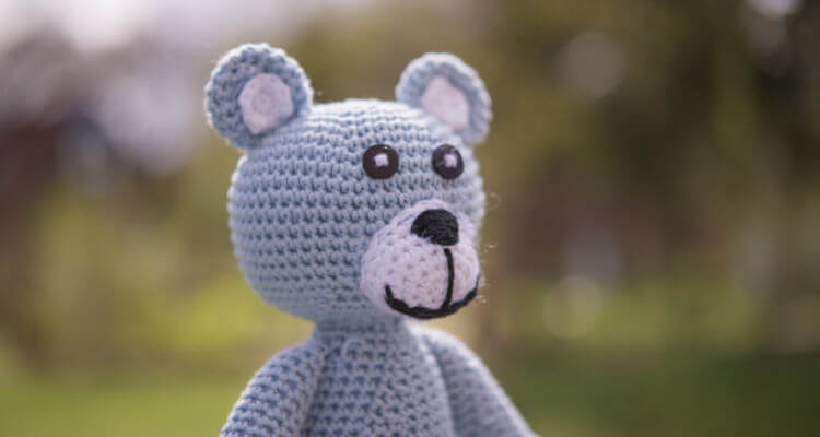 Stuffed teddy - what toys you need for baby travel