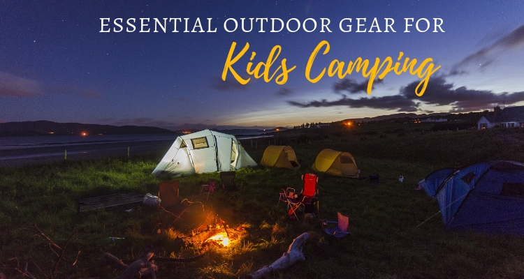 Camping gear for kids