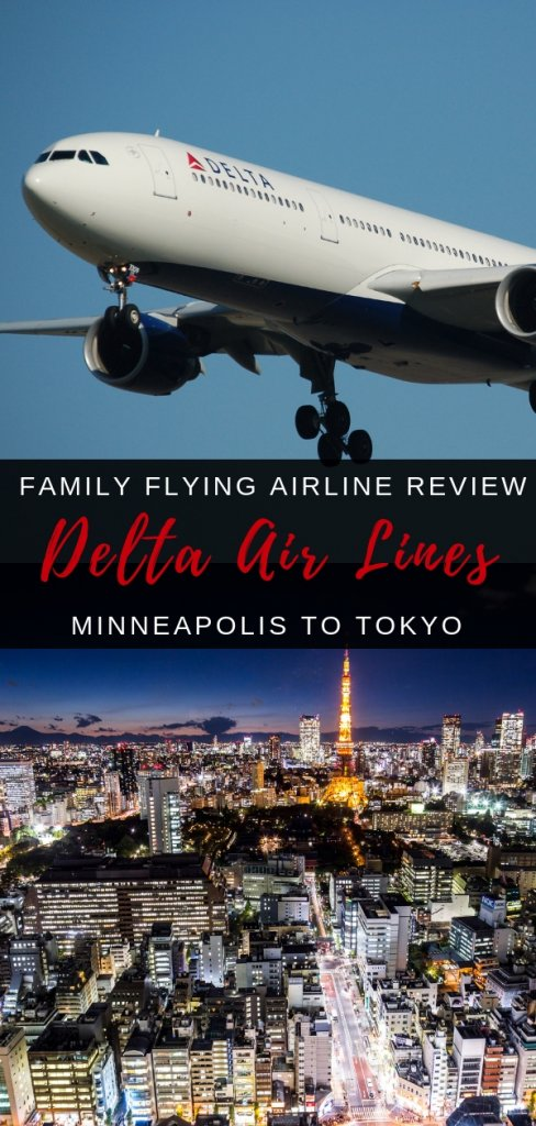 Delta Airline review - family experience from Minneapolis to Tokyo