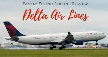 Delta International Long Haul with Kids