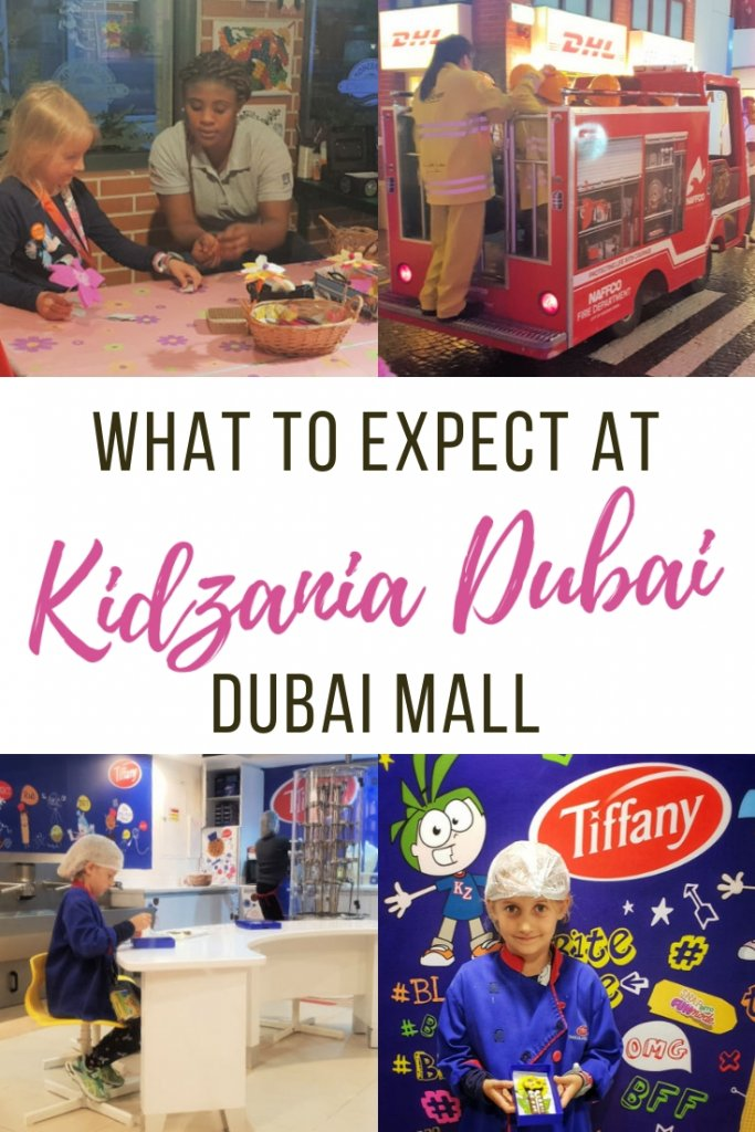What will you find at Kidzania Dubai - the world's largest indoor Edutainment chain has a branch in Dubai Mall and the Globetrotters went along to test it out