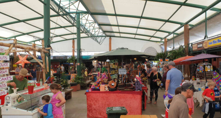 Inside the Kuranda Markets