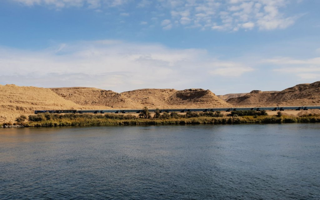 Aswan to Luxor train