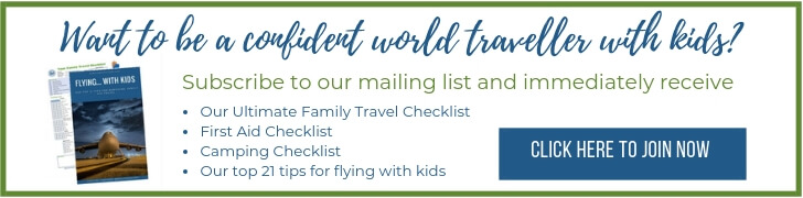 Globetrotter mailing list sign up box