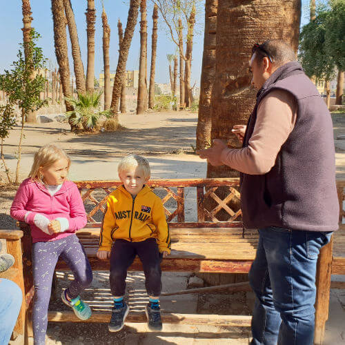 Hady our tour guide in Luxor