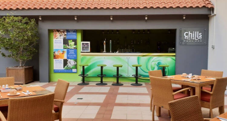 Pool Bar at Novotel World Trade Centre Dubai | Family Accommodation Review