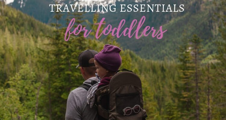 Toddler Travel Essentials for 2019