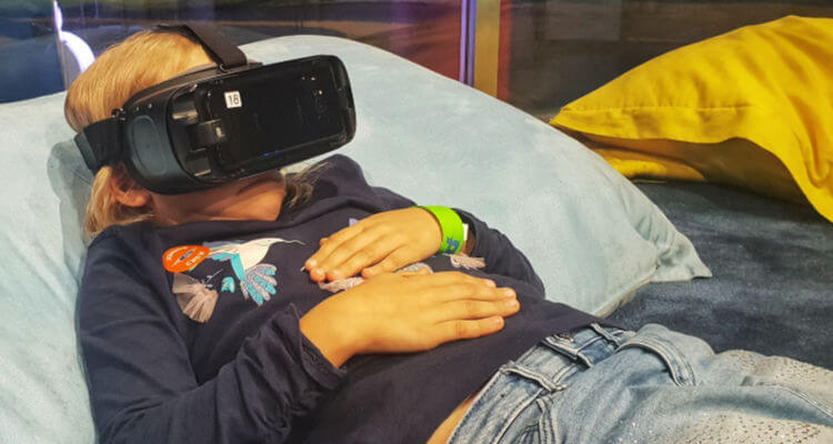 Geminose The Carousel | Enjoying one of the more sedate experiences at VR Park Dubai