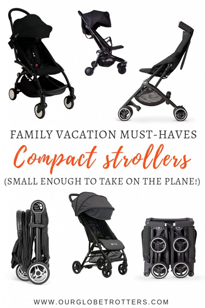 Compact Strollers so small you can take them on the plane.