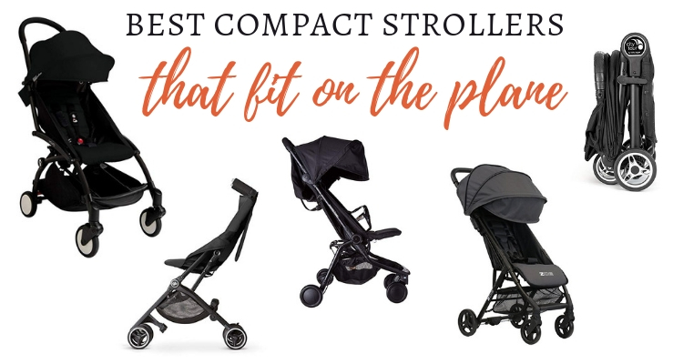 Compact plane strollers that will actually fit on the plane with you
