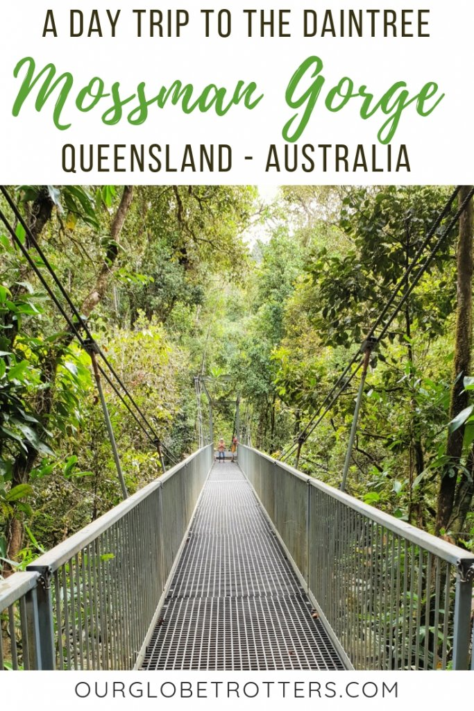 Guide to visiting Mossman Gorge Queensland in the beautiful ancient Daintree Rainforest