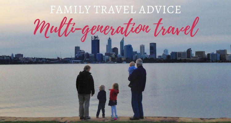 How to plan multi-generation family travel