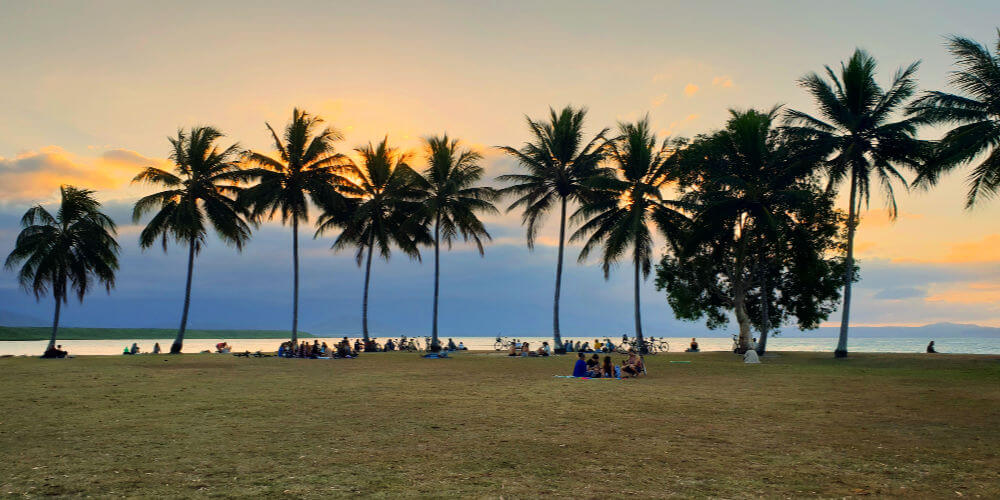 Port Douglas sunset at Rex Smeal park