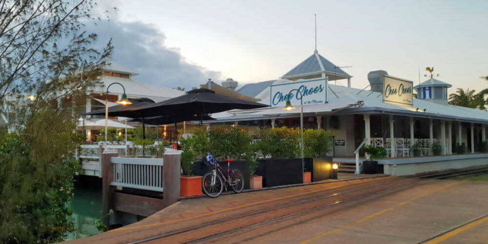 Choo Choos Cafe at the Marina Port Douglas
