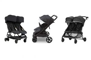 a selection of 3 ultralight weight double strollers