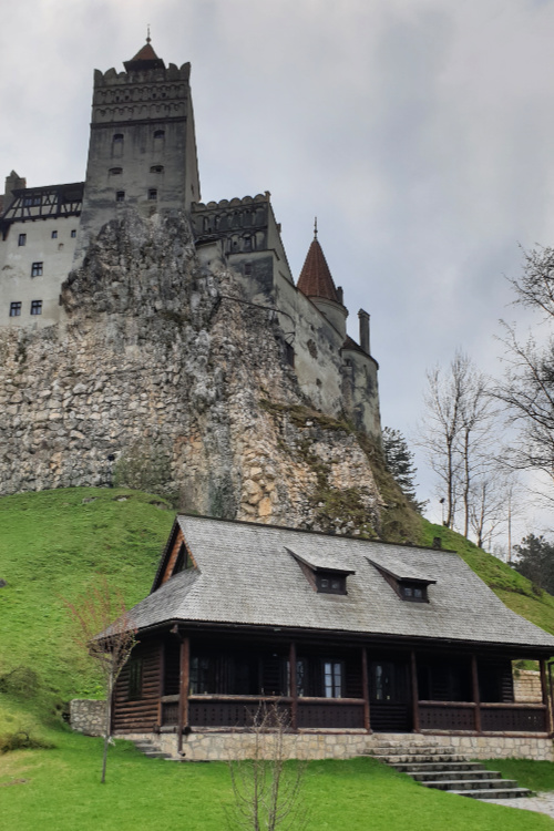 Bran Castle, Bran village in Transylvania