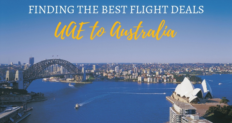 How to find the best value flights from the UAE to Australia