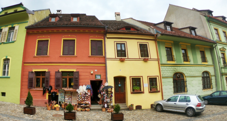 Sighisoara Town Centre