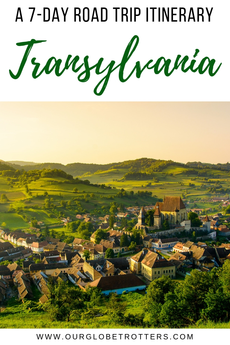 A beautiful Transylvanian Village, road tripping in Romania