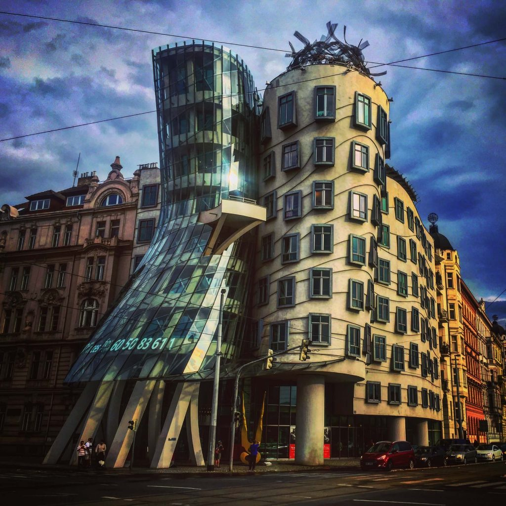 Dancing Houses in Prague