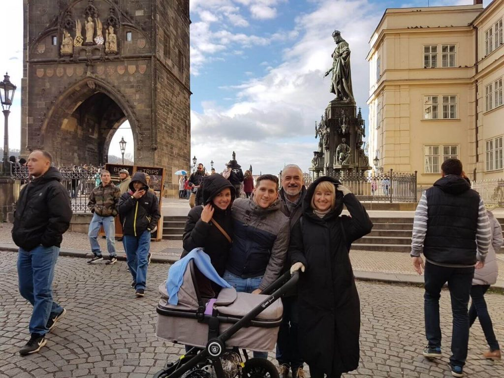 Visiting Prague with a baby