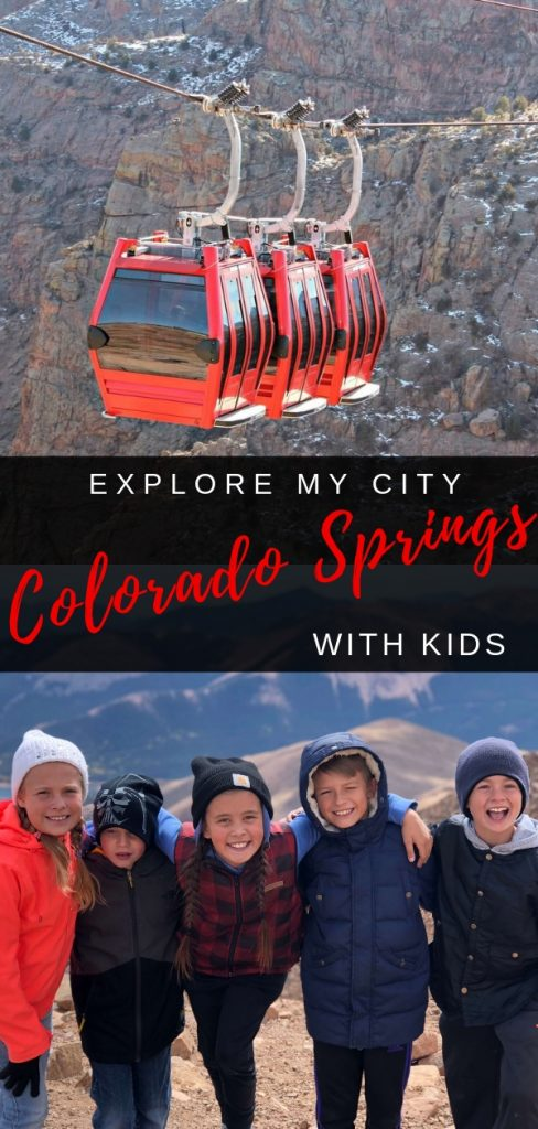 EXPLORE MY CITY - COLORADO SPRINGS