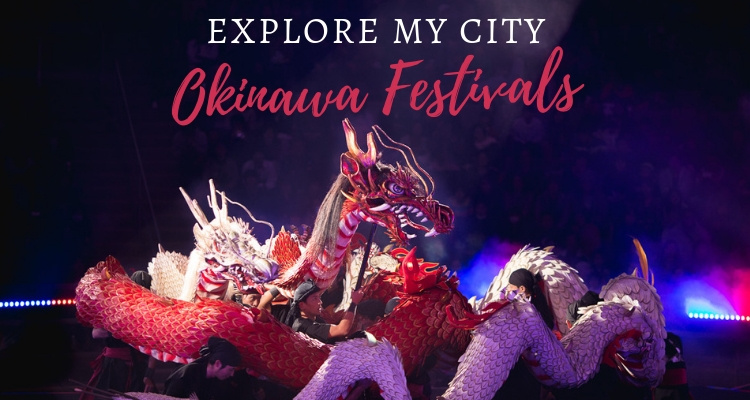 Explore my City Okinawa festival dragon
