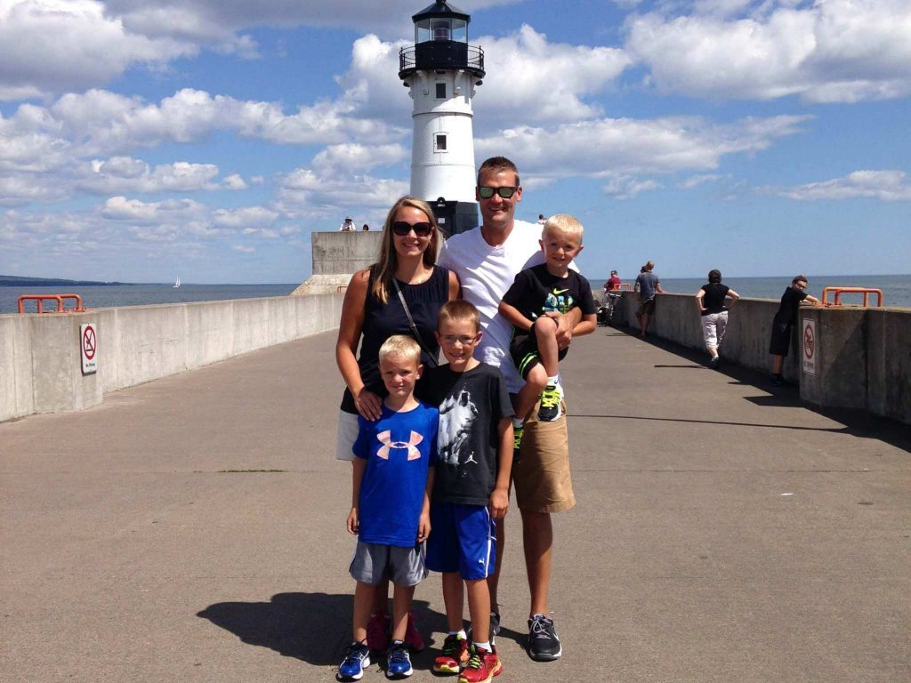Lighthouse Travel with a Plan family in Duluth MN