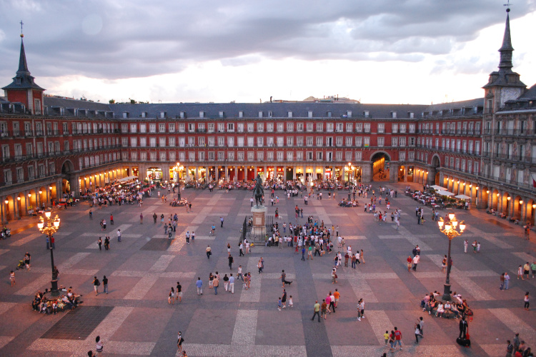 Plaza Mayor - 24 hours in Madrid