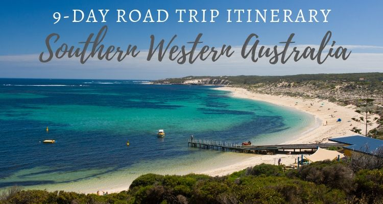 Margaret River Beach - Southern WA Road Trip