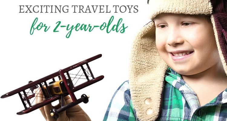 Exciting travel toys for a 2-year-old