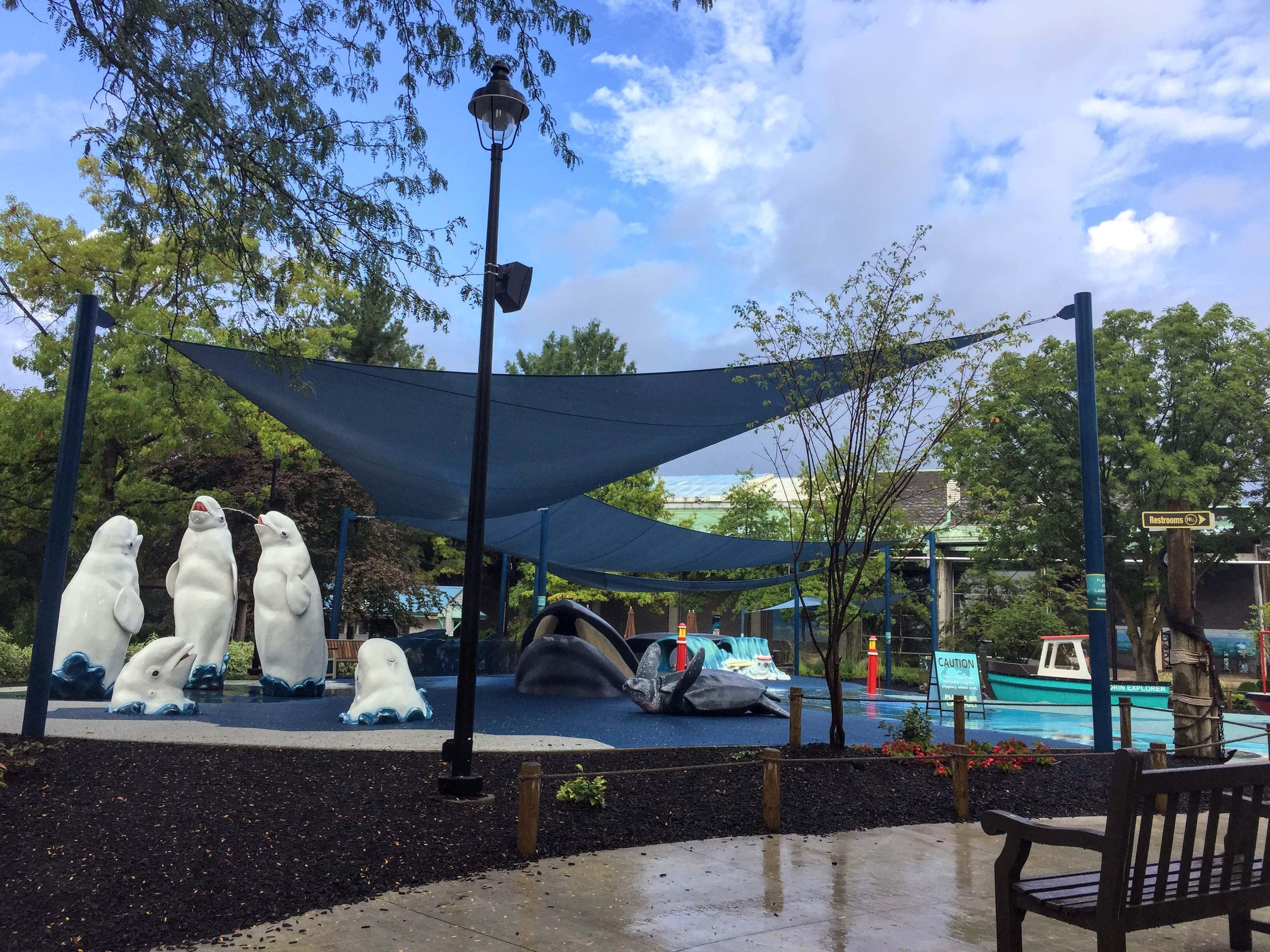 Columbus Zoo Play Area