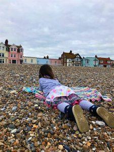 aldeburgh child on beach
