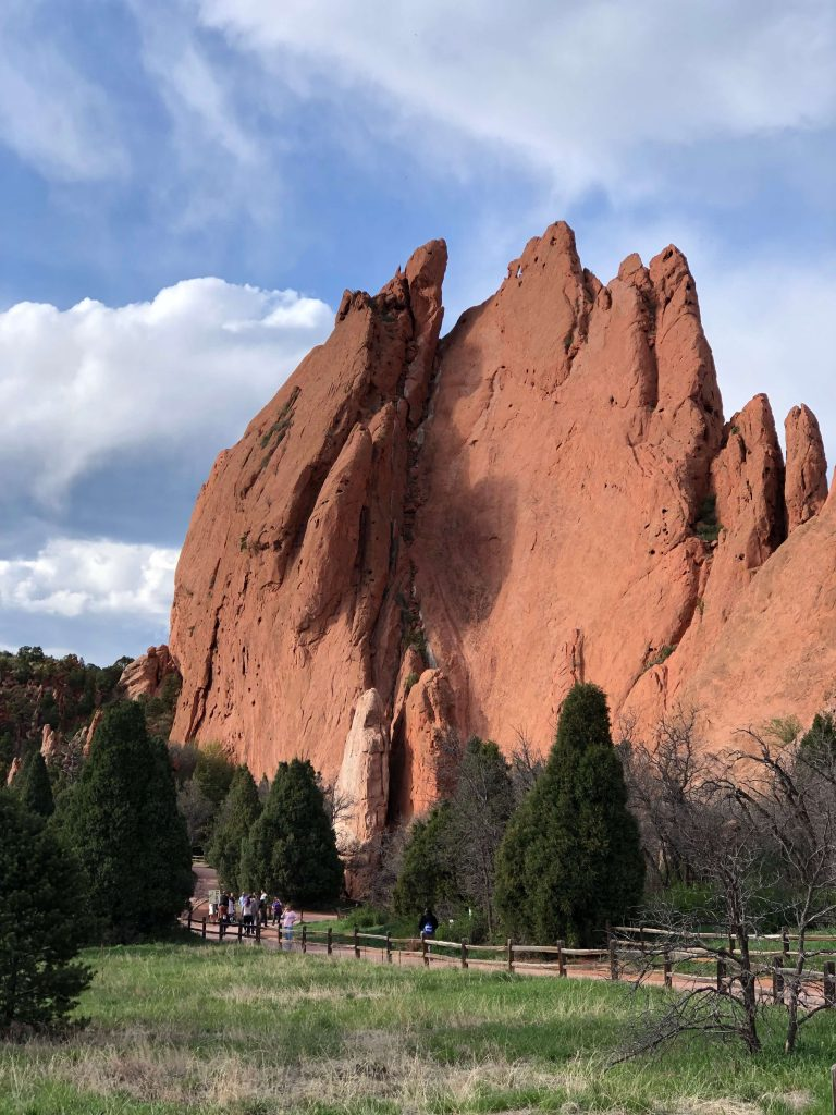 garden of the gods walking path