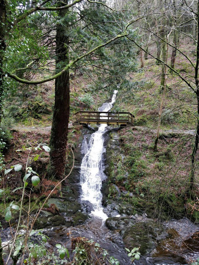 glen Helen waterfall