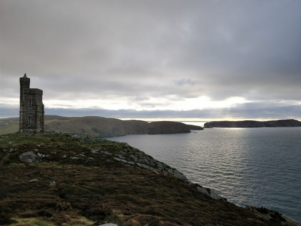 milners tower to calf of man