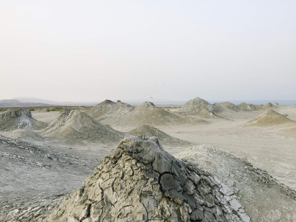 Mud Volcanoes near Baku