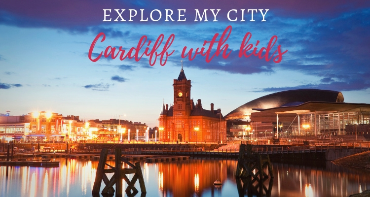 Explore My City Cardiff Night lights