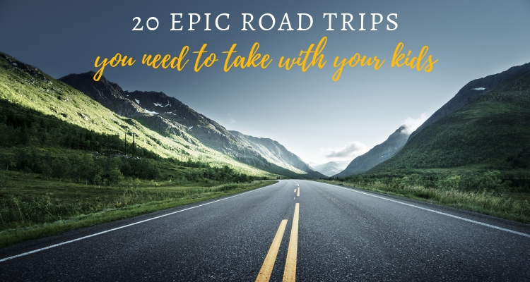 20 Epic family road trip ideas around the world