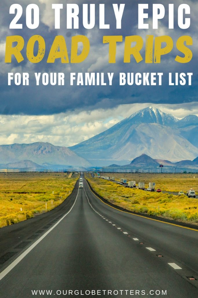 Long straight road - 20 Truly Epic Road Trips for your family Bucket List